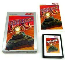Battlezone (Atari 2600, 1983) By Atari (Box, Cartridge & Manual) NTSC