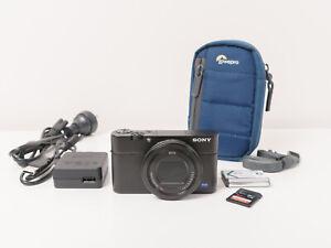 Sony RX100 Mark IV 4K rx100iv Digital Cyber-shot Camera ~As New Condition
