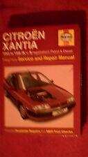 Haynes Service & Repair Manual - Citroen Xantia  1993 - 1998  Petrol & Diesel