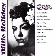 BILLIE HOLIDAY 15 Track Collection CD Fox Music Neu & OVP