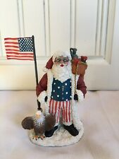 Nos International Santa Claus Collection Patriotic United States