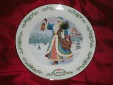 Lenox International Victorian Santa Plate Collection Grandfather Frost 1994