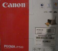 Canon PIXMA IP1500 Digital Photo Inkjet Printer