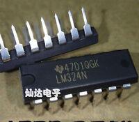 50PCS LM324N LM324 DIP-14 TI Low Power Quad Op-Amp IC