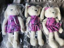 LOLA & MAVERICK / TED BAKER BLOSSOM BUNNY RABBIT BEAR - BNWT IN BAG NEVER OPENED