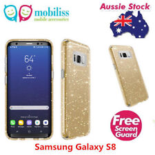 SPECK Presidio Shockproof Heavy Duty Case Gold Glitter Samsung Galaxy S8 +SP
