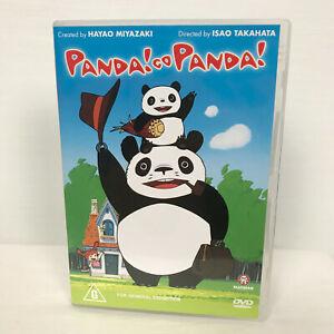 Studio Ghibli Panda! Go Panda! Movie DVD R4 PAL AUS/NZ
