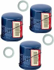3 GENUINE HONDA OIL FILTER 15400-PLM-A01/A02 15400-POH-305 ACURA Washer Gaskets
