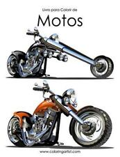 Motos: Livro para Colorir de Motos 1 by Nick Snels (2016, Paperback, Large Type)