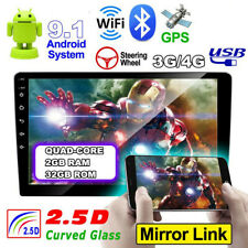 9 inch Android 8.1 2+32G 2Din Car Stereo Radio GPS Wifi OBD2 Mirror Link Player