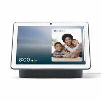 Google Nest Hub Max Video & Speaker Home Google Assistant - Charcoal GA00639-US