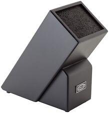 Stellar Fibre & Beech Black Universal Knife Block