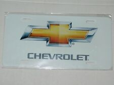Gold Bowtie For Chevrolet / Chevy Car Truck SUV VAN License Plate