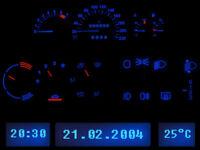LETRONIX LED Tacho Komplettset Cockpitbeleuchtung Opel Astra F Corsa B Tigra A