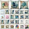 Ocean Animal Pillow Case Cover Sofa Bedroom Waist Cushion Covers Case Pillowcase
