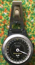 Vintage K&R PEDO Precise Mechanical Jogger Pedometer Body Watch USA #25235 WOW!