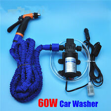 High Pressure 12V Car Wash Water Pump Washing Car Washer With Expandable Hose