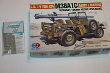 RARE LOT  Skybow (TP3505) M38A1C + conversion Accurate Armour CJ5M Israel 1/35