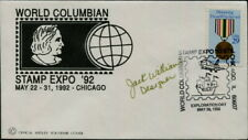 USA - 1992 'WORLD COLUMBIAN STAMP EXPO' Signed Wesley Souvenir Cover [C0273]