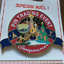 Disney DLP - Christmas Doll Party - Pin Trading Event - Jumbo Stitch LE 400 #299