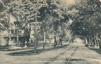 OBERLIN OH – East College Street - 1910