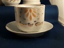 Antique Victorian Present Gift and Remember Me Cups Collection Of 28 Cups