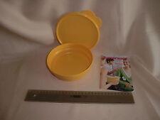 Tupperware 1 Liter Schüssel mit Ohrendeckel in gelb aus Frischeturm