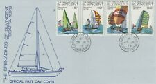 ST VINCENT GRENADINES 1979 FIRST DAY COVER SAILING YACHTS REGATTA