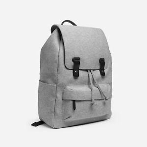 Everlane Twill Snap Backpack Grey OS