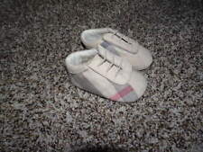 BURBERRY INFANT BABY 17 PLAID SHOES