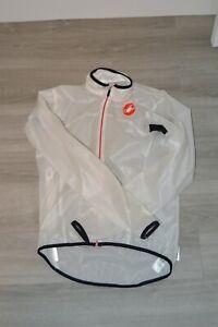 Castelli windstopper lightweight Rain/Wind jacket Small