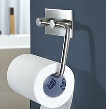 Durable 304 Stainless Steel Toilet Tissue Paper Roll Holder For Bathroom Kitchen