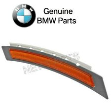 For BMW E60 E61 5 Series Front Driver Left Yelow Reflector Bumper Cover Genuine