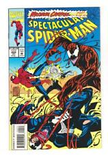 THE SPECTACULAR SPIDER-MAN 202 (NM-) MAXIMUM CARNAGE 9 of 14 (SHIPS FREE) *