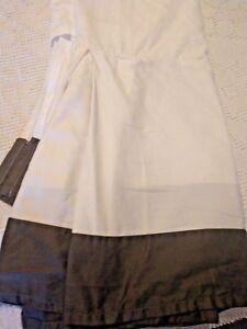 "Charcoal Gray Grey Bed Skirt Dust Ruffle 14"" Drop Tailored Queen Fieldcrest"