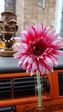 VW Car Vent Vase and hot pink Gerbera Flower, Car Beetle T2 T25 T4 T5  Van