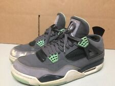 superior quality 9642e 9fcd4 Air Jordan 4 Retro Green Glow Size US 11