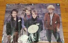 "Vintage 1980s U2 War Tour Poster 23 1/2"" X 32 1/2"""