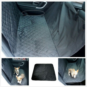 Waterproof Heavy Duty Dog Car Seat Cover Pet Rear Back Hammock Mat Protector