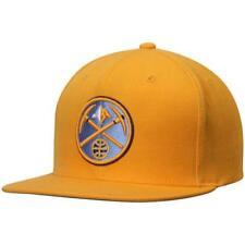 New Denver Nuggets Adult Mens Mitchell & Ness OSFA Flatbrim Snapback Cap Hat $30