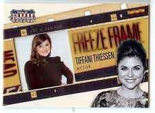TIFFANI THIESSEN 2015 Americana Freeze Frame Film Cell Insert Saved By the Bell