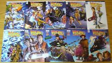 Back To The Future #1-25 VF/NM complete series written by bob gale - 2017 NEW