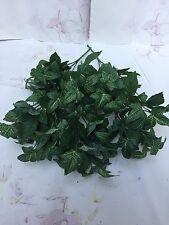 6x Ivy Bunches Joblot Artificial Greenery Bushes Fake Foliage Pot Plants Greens