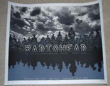 Emek Radiohead Roseland Ballroom New York Print Poster Glow In The Dark Art