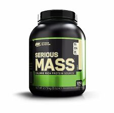 Optimum Nutrition Serious Mass 6lb Chocolate Whey Protein Weight Gainer Muscle