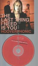 CARDSLEEVE--HOOVERPHONIC -- THE LAST THING I NEED IS YOU-- - CARDSLEEVE