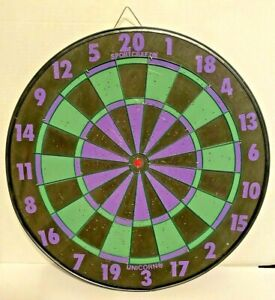 Vintage Double Sided 17in Dart Board Baseball