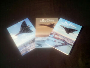 XH558 Christmas Cards 2019 ~ Set of 6 ~ 2 off each of 3 designs ~ Official VTST