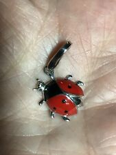 Italy Designer Giorgio Martello 925 Sterling Silver Ladybug Charm
