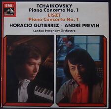 HMV ASD 3262 ED1 AUS PRS TCHAIKOVSKY / LISZT PIANO CONCERTO 1 GUTIERREZ / PREVIN